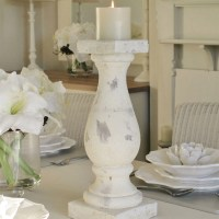 Large stone candle holder | Bliss and Bloom Ltd