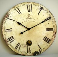 French style large wall clock | Bliss and Bloom Ltd