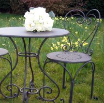 French Shabby Chic Bistro Table Set