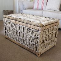 Storage Chest Trunk Rattan