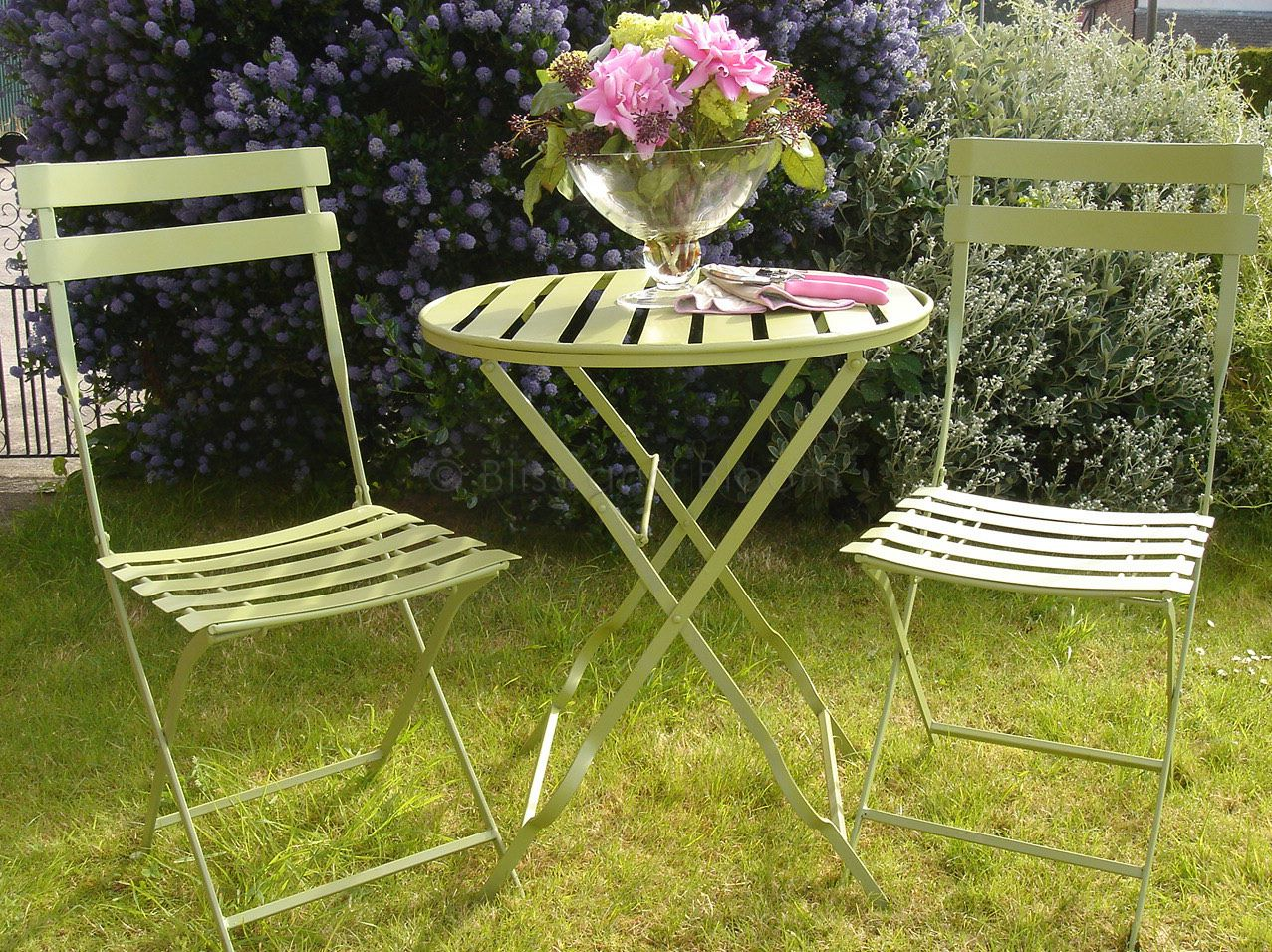 green metal bistro chairs modern accent set seconds bliss and bloom ltd