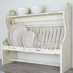 Wooden Kitchen Plate Rack Cabinet Backsplash Ideas For Shelf Bliss And Bloom Ltd