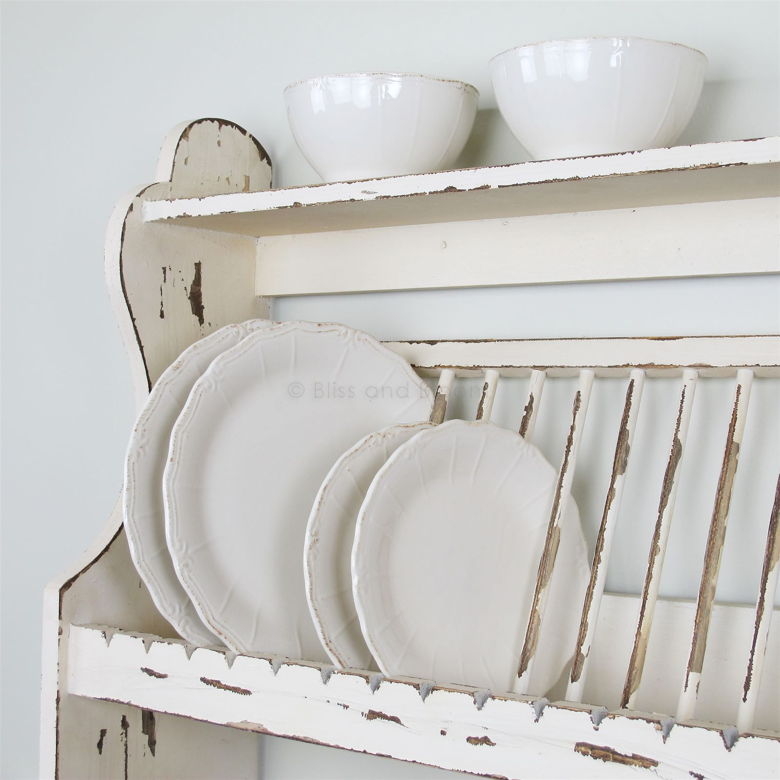 wooden kitchen plate rack cabinet island in the shelf bliss and bloom ltd