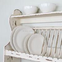 Wooden plate rack/shelf | Bliss and Bloom Ltd