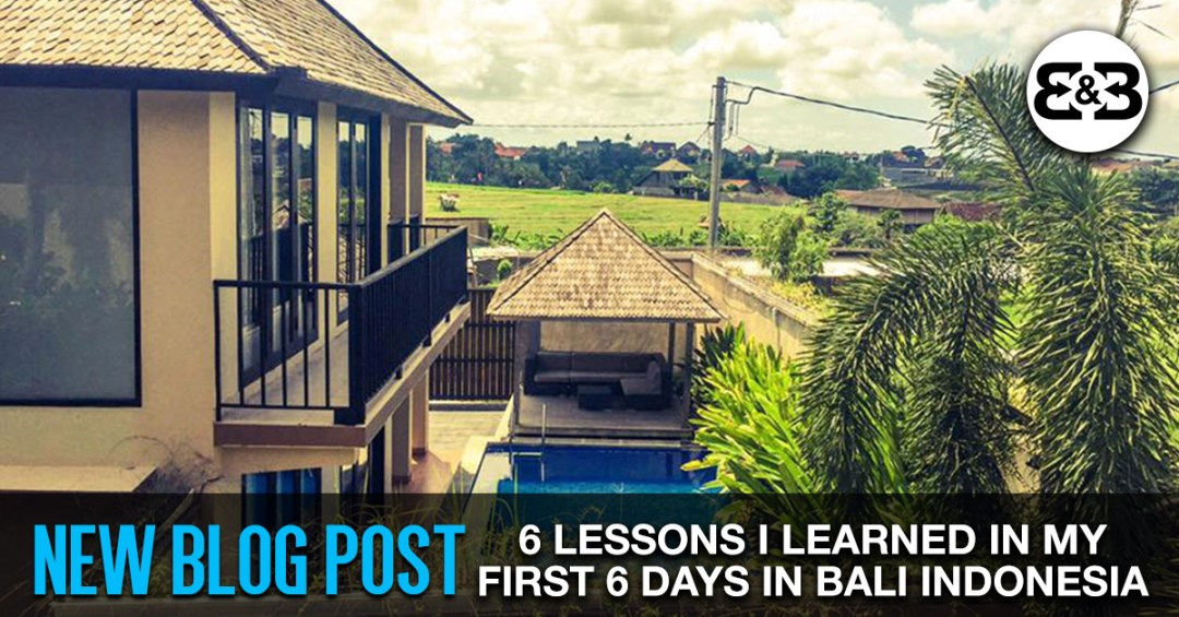 6 Lessons I Learned During My First 6 Days In Bali