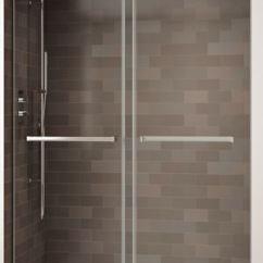 White Kitchen Cabinets For Sale Concrete Floor Fleurco Shower Door Gemini Bypass, Bathroom Accessories ...
