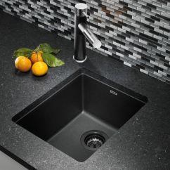 Blanco Undermount Kitchen Sinks Tall Trash Can Precis U 3/4 400827