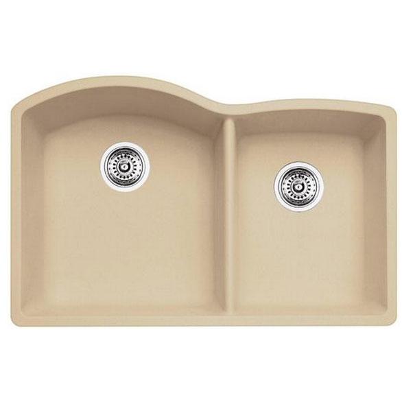 blanco kitchen sink silgranit diamond u 1 3 4 400076