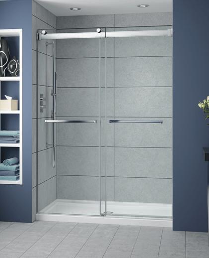 Fleurco Shower Door Gemini ByPass Plus  Bliss Bath And