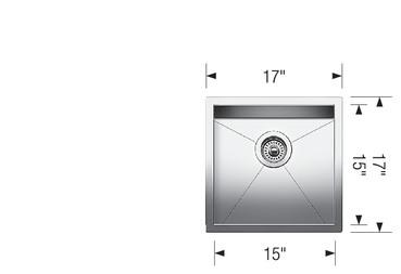 blanco bar sink quatrus u bar 401245