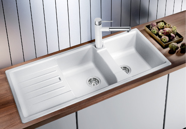 blanco kitchen sink wood floors lexa 8 s bliss bath and