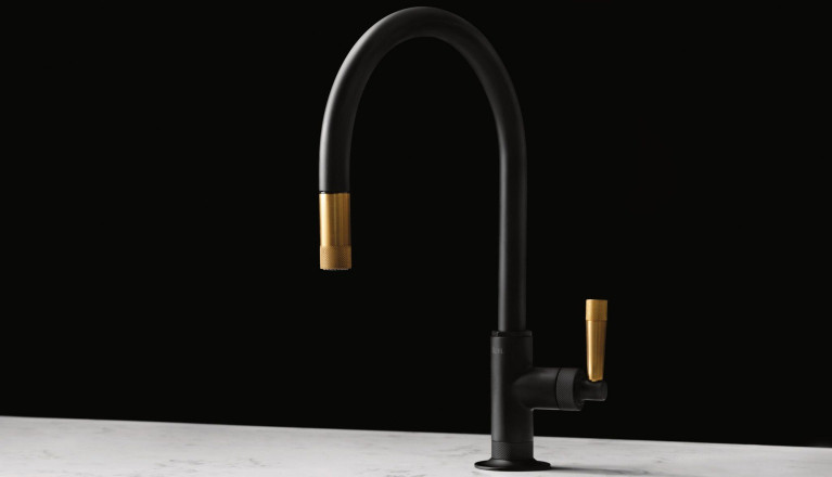 rohl mb7930lm graceline pulldown kitchen faucet with metal lever handle