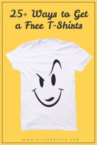 Get a Free T-Shirt By Mail