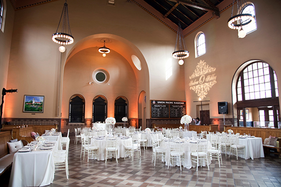 Boise Train Depot  Bliss Events  Boise Wedding Blog