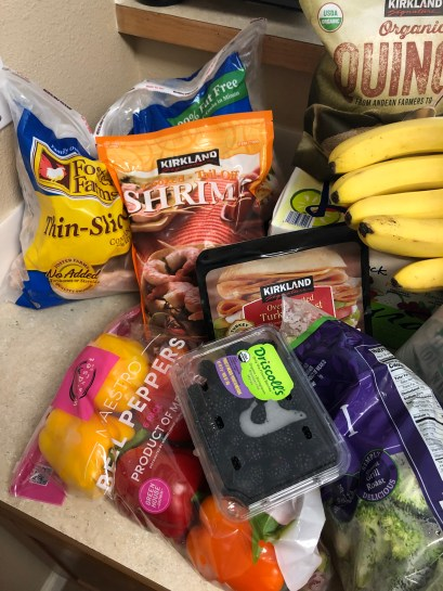 and MORE groceries...
