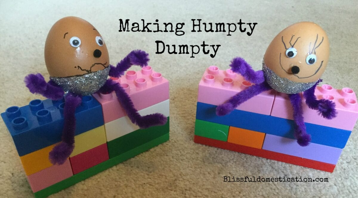 Making Humpty Dumpty