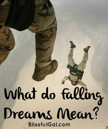 What are the meanings of your falling dreams?