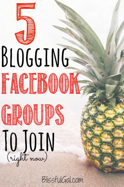 As a blogger, it is extremely important to know which blogging facebook groups to join. I let you know the best!