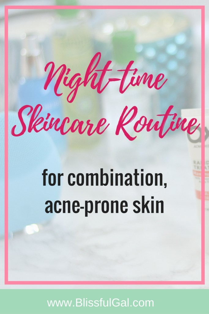 My Night-Time Skincare Routine- Taking care of my skin is so essential. I believe that night is the best time to load up on the skincare products because they have all night to work their magic.