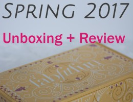 Spring 2017 FabFitFun Box Review