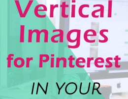 How to Hide an Image in a Blog Post for Pinterest