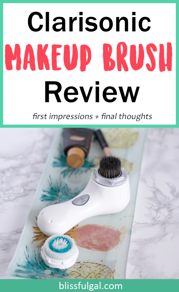 Clarisonic makeup brush review / clarisonic foundation brush / makeup brush first impressions / makeup brush guide / makeup brush 101 / best makeup brush / round makeup brush