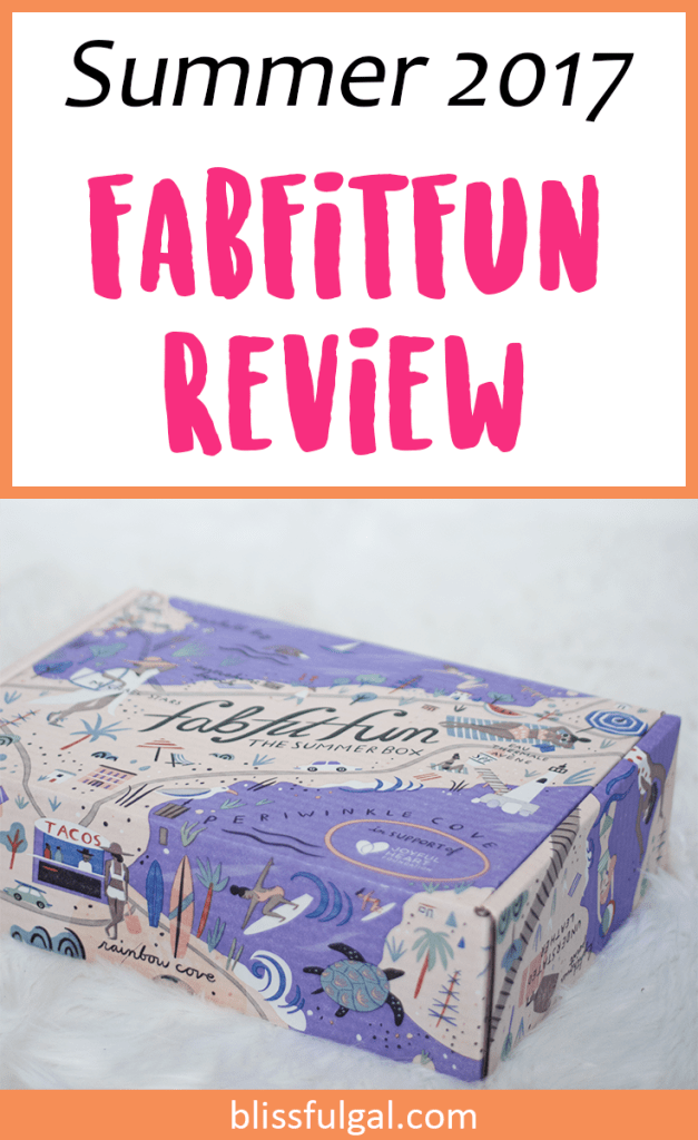 FabFitFun Summer 2017 Subscription Box Review / Subscription boxes / fashion box / unboxing / Fabfitfun promo code
