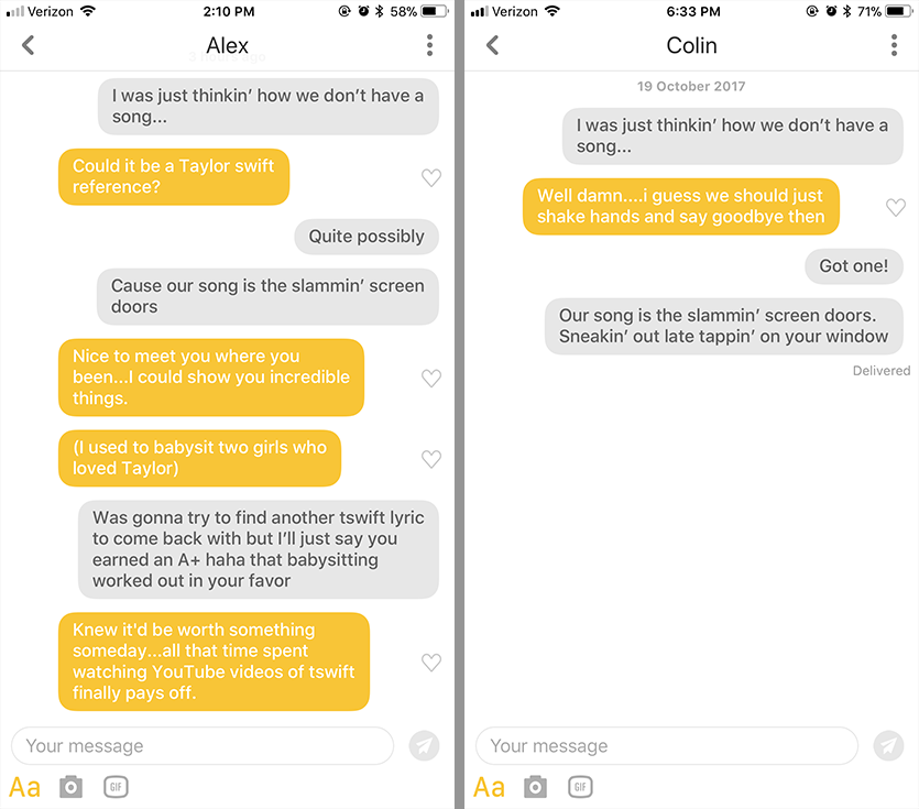 How to start a conversation with a girl on dating app