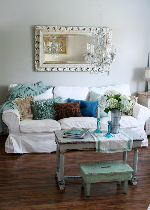 beach themed living room decor outdoor idea beached blissfully domestic sparkly with blue accents