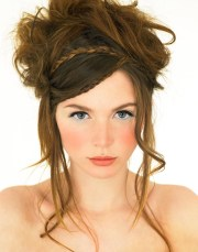 chic braided hairstyles blissfully