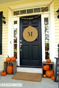 Decorate Your Entryway and Foyer For Fall | Blissfully ...