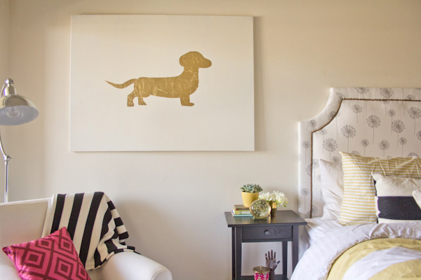 Stunning Home Decor DIYs With Gold Leaf Foil Blissfully Domestic