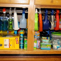 Under Kitchen Sink Storage Wood Playsets 10 Ideas To Organize Your In A Snap Blissfully