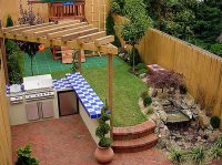 Getting Creative with a Small Backyard | Blissfully Domestic