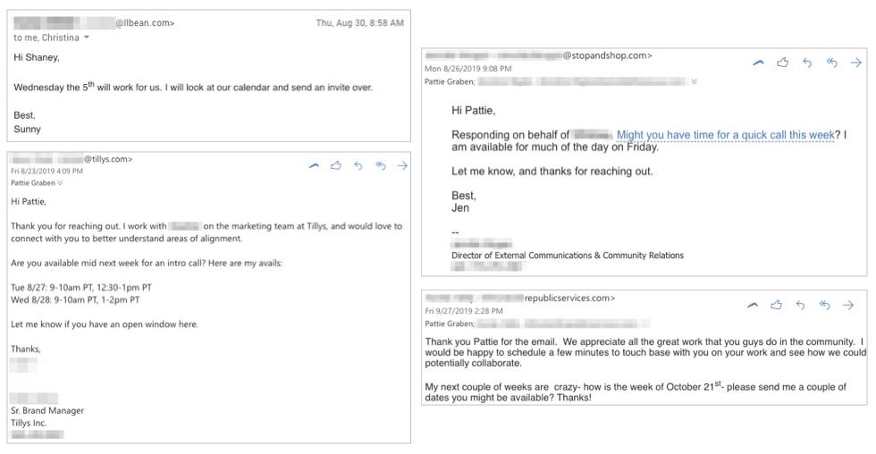 Nonprofit Email Responses 2