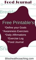Free Healthy Lifestyle Printables