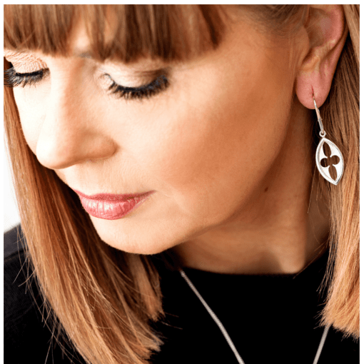 Arch earrings from Architectural series