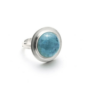 Artisan Ring | Aquamarine Statement Ring
