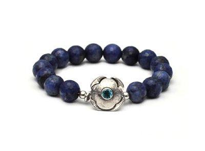 Sodalite Blossom bracelet