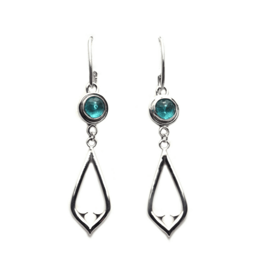 Apatite Architectural Earrings