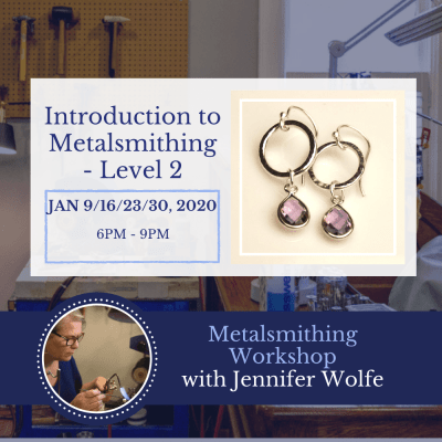 Introduction to Metalsmithing - Level 2