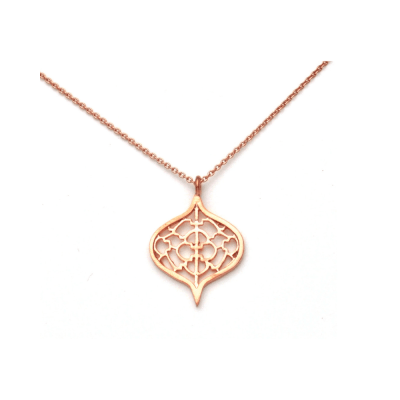 Saxon Rose Gold Pendant