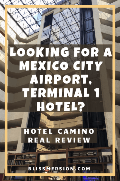Mexico City Airport Terminal 1 Hotel: Camino Real Review