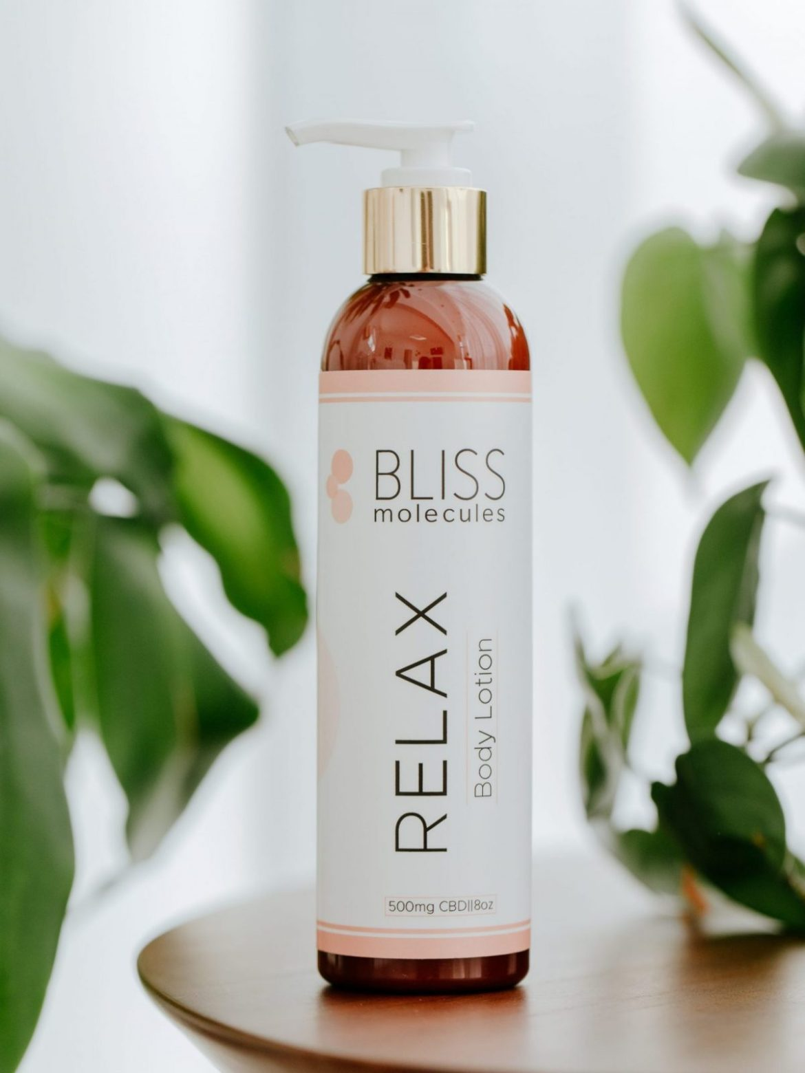 Relax Hemp Extract Body Lotion from Bliss Molecules