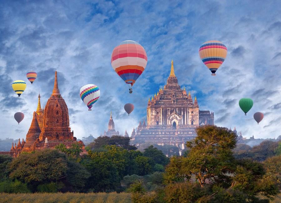 Bagan Archaeological Zone, Mandalay, Myanmar