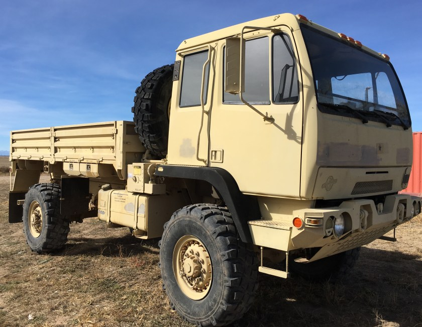 Our LMTV M1078A1 currently in Denver, Colorado, with Jay at https://couchoffroad.com.