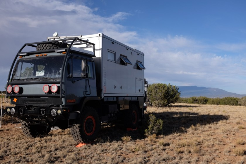Boondocking in the high desert.