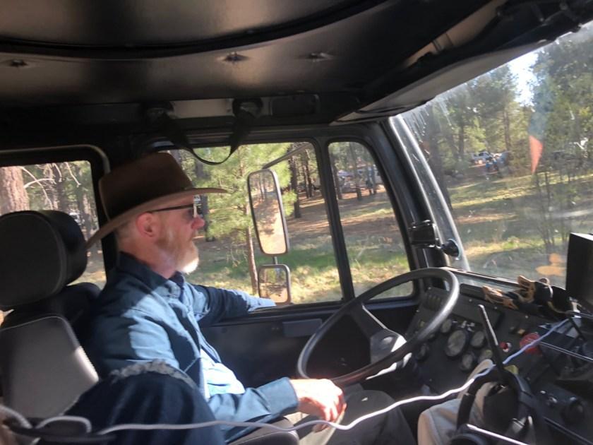 LMTV driving