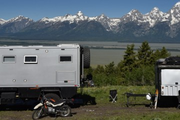 LMTV/Bliss Mobil in Tetons
