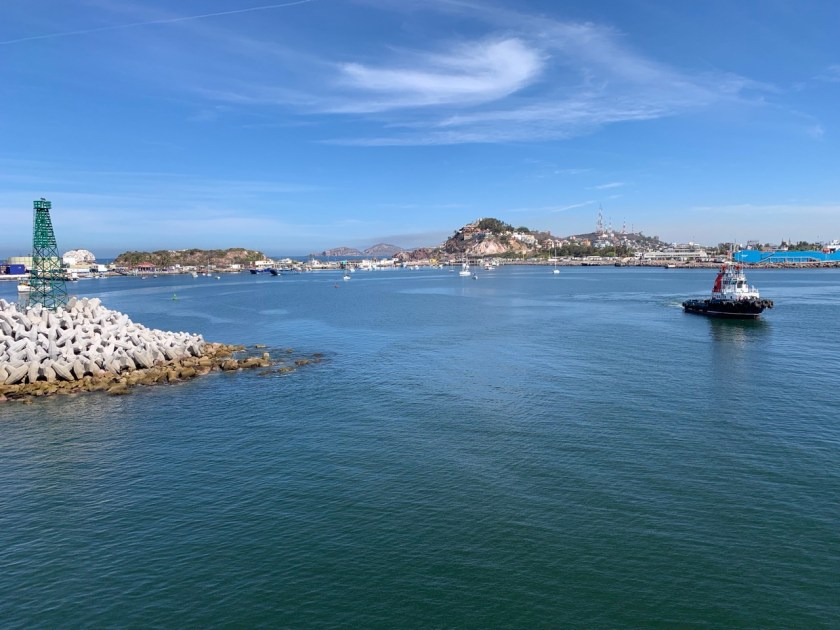 Arrival to Port of Mazatlan